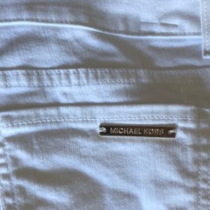 Michael Kors White Jeans Cropped